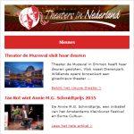 theaters in nederland nieuwsbrief voorbeeld