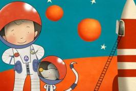 André het Astronautje (3+)