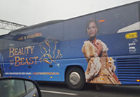 Cast Bus Beauty and the Beast