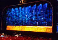Aanvang show zaal AFAS Circus theater