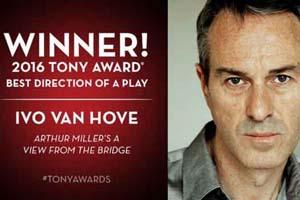 Prestigieuze Tony Award voor regisseur Ivo van Hove