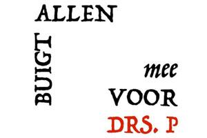 Erik van Muiswinkel Buigt allen mee voor Drs. P