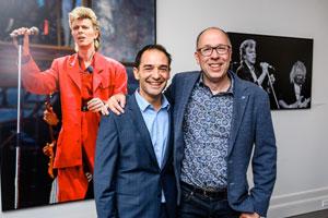 Dragan Bakema opent exclusieve David Bowie fototentoonstelling