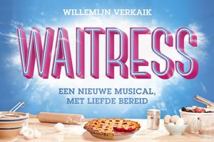 Musical Waitress komt naar Nederland met Willemijn Verkaik in de hoofdrol