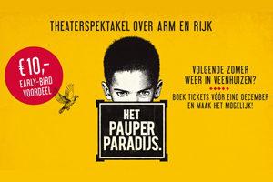Zeg JA tegen Het Pauperparadijs in Veenhuizen in 2020