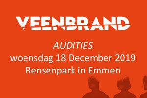 Stichting Veenbrand zoekt voor muziektheaterspektakel Veenbrand enthousiaste en talentvolle acteurs.