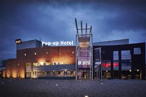 Kom overnachten in het Pop-up Hotel De Leest