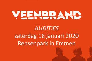 Nieuwe audities Muziekspektakel Veenbrand
