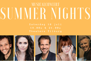 Musicalconcert Summer Nights - Theaters Tilburg