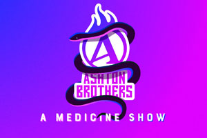 Ashton Brothers, a medicine show