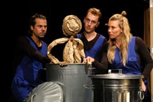 Poppetje van papier krijgt eigen theatertour en is dit seizoen te zien in Holland's Got Talent
