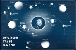 Theatermaker Michaël Bloos bouwt zijn Universum van de Waanzin