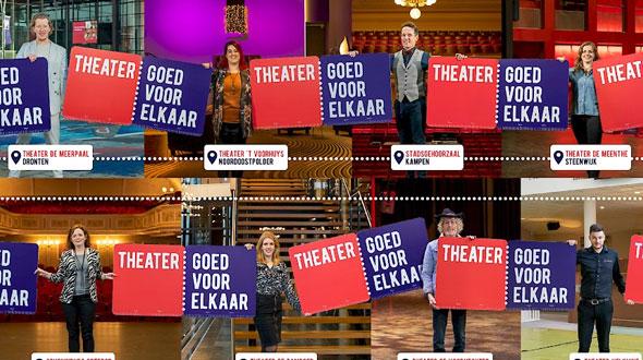 De theaters in de regio Zwolle gaan samenwerken