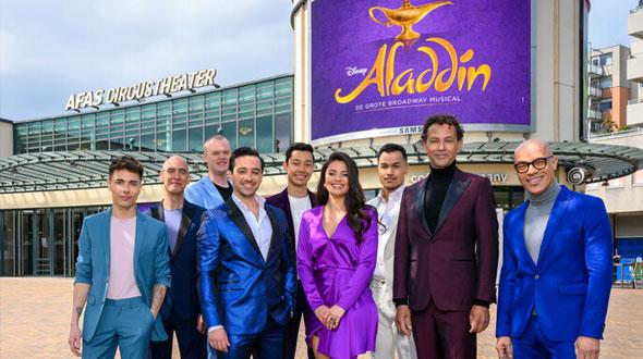 Rollen voor Disney's Aladdin bekend