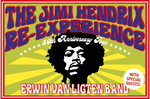 The Jimi Hendrix Re-Experience - 50th Anniversary Tour